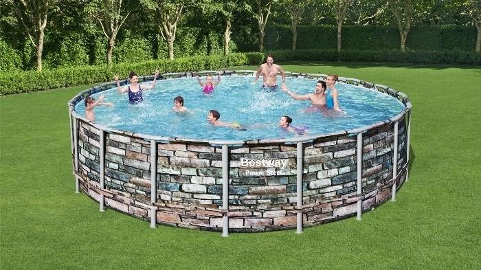 Samostojeći montažni bazeni